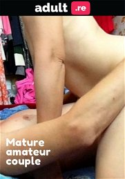 Mature amateur couple