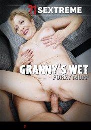 Granny's Wet Furry Muff