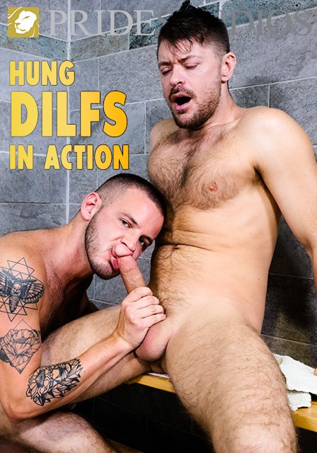 Hung DILFs In Action
