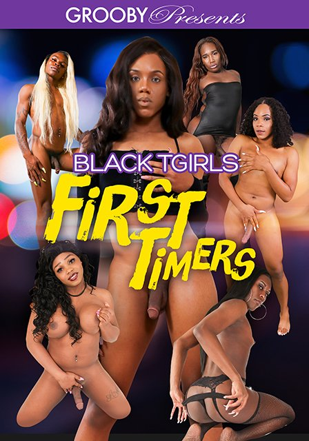 Black-Tgirls: First Timers