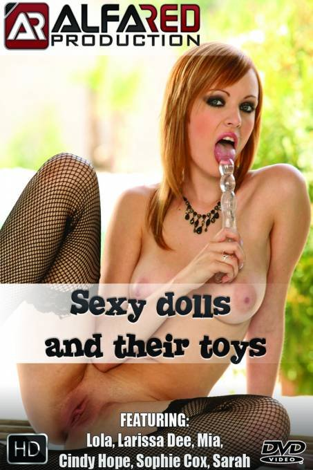 Sexy dolls and their toys
